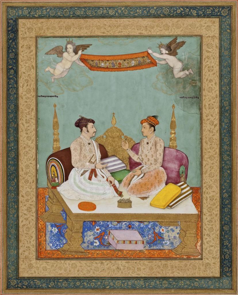 Maharaja_Jai_Singh_of_Amber_and_Maharaja_Gaj_Singh_of_Marwar,_1630